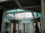 Galerie, Stahl mit Glasboden